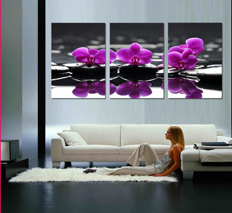 Hd print painting wall pictures for living room beautiful flower canvas wall art for home - Latest beautiful wall decoration ...