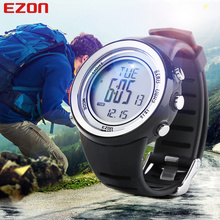 Niohuru Multifunction Sports Watch H009 5ATM Waterproof Altimeter Stopwatch Barometer Outdoor Climbing for Men Women EZON