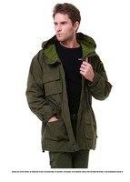 Outdoor men's Tactical Military M65 male coat US man windbreaker Camping Overcoat multi pocket hooded pilot 101 air force Jacket