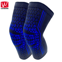CAMEWIN 1 Pair Knee Protector Knee Support For Basketball Running Jogging Workout Riding Hiking Joint Pain