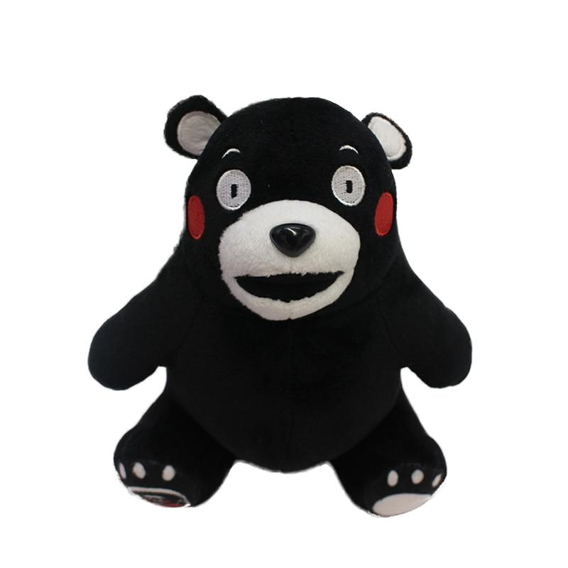 2018 Varm japansk gullig kumamonbjörn plysch leksaktecknad baby barn födelsedagspresent mjuk plysch björn sitter kumamoto maskot björn dockor