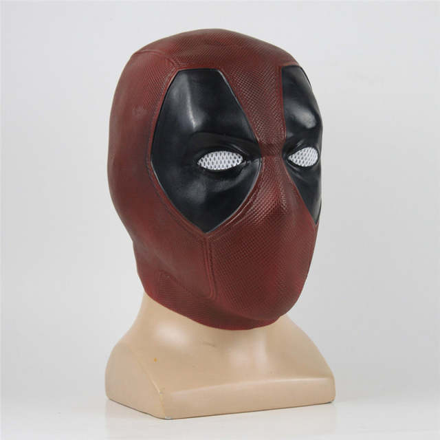 Movie Superhero Deadpool 2 Cosplay PVC Mask Full Head Helmet Halloween Prop Toys