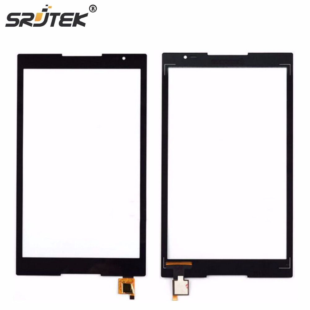Srjtek 8 Inch For Lenovo Tab S8 S8-50 S8-50F S8-50F S8-50L S8-50LC 8 Front Sensor Touch Screen Digitizer Panel Cover texted black touch screen digitizer lcd display assembly for lenovo tab s8 50 s8 50f s8 50l s8 50lc free shipping