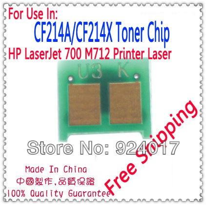 Para HP CF214A CF214X 14A 14X CF214 CF 214 14 A X recarga de cartucho de tóner Chip, para HP 700 M712 M725 712 725 Chip de tóner de impresora 222-412 222-413 222-415 conector de cable compacto bloque de terminales Conductor con palanca 0,08-2.5mm2 214 218 SPL-2 3