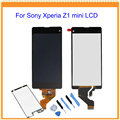 For Sony Xperia Z1 compact z1 mini D5503 M51w LCD Display with Touch Screen digitizer assembly + Tools + Sticker Free Shipping