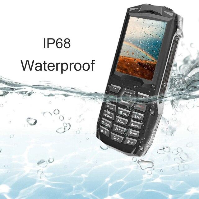 "Blackview Original BV1000 2.4"" IP68 Waterproof Outdoor Rugged Mobile Phone Russian Keyboard Dual SIM Flashlight Tough Cellphone 1"