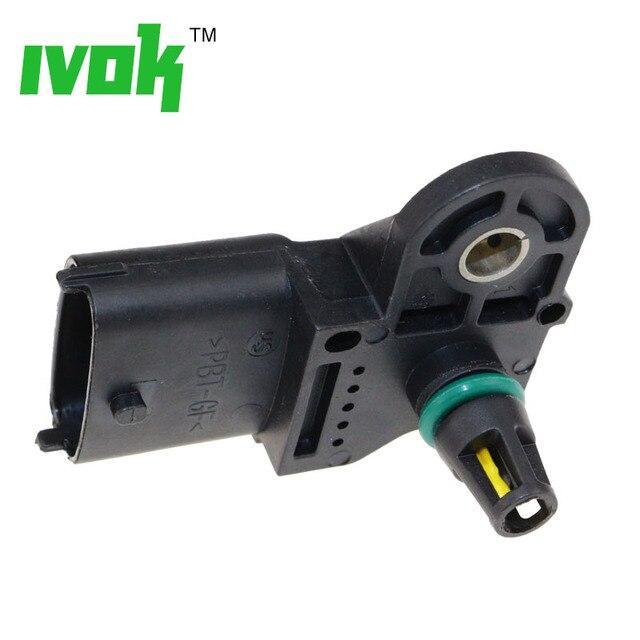 Mapa Original Sensor de la presión para Cummins Kamaz Volvo Ford Renault 0281002576 0 281 002 576, 3968437, 201149033, 20524936