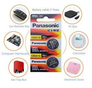 Image 2 - Panasonic Высокое качество литиевая батарея 10 шт./лот 3V li ion cr2016 кнопка батареи часы монета батареи cr 2016 DL2016 ECR2016 GPCR