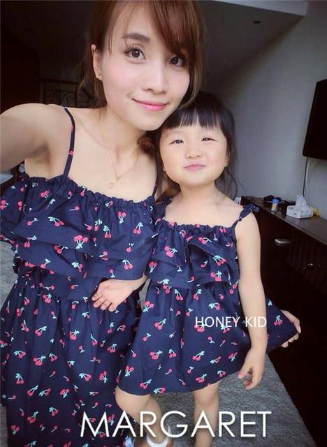Vestidos de verano para madre e hija