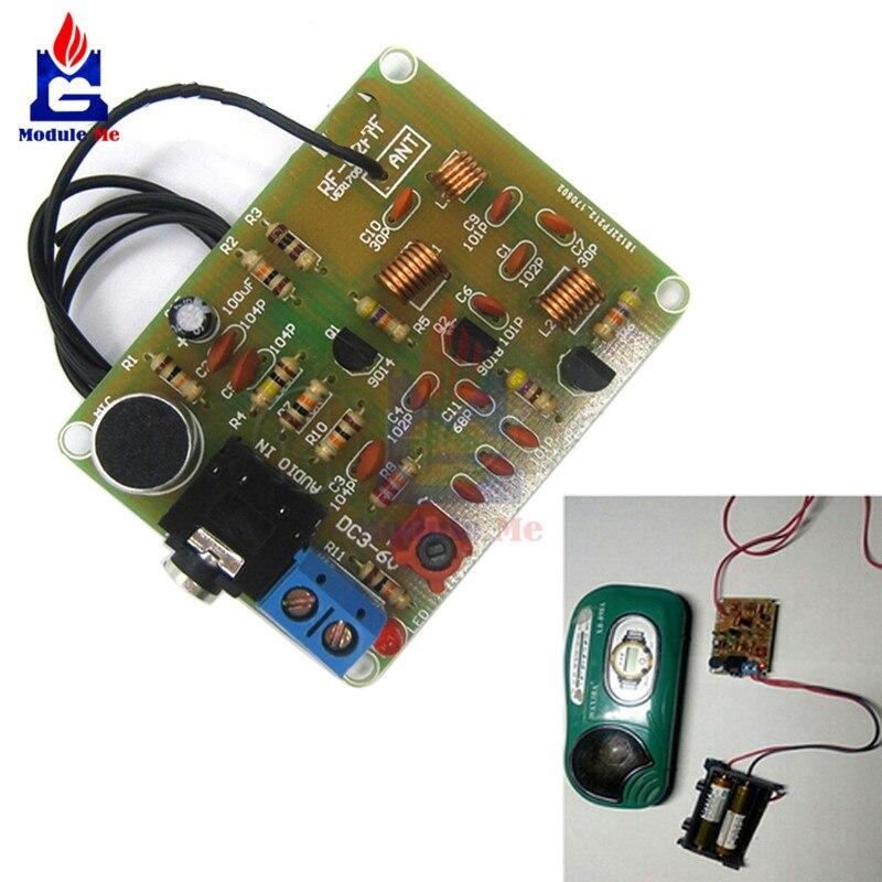 DC 3-6V FM Transmitter Module 88-108MHz FM Frequency Modulation Wireless Microphone Module DIY Kits Transmitter Board Parts