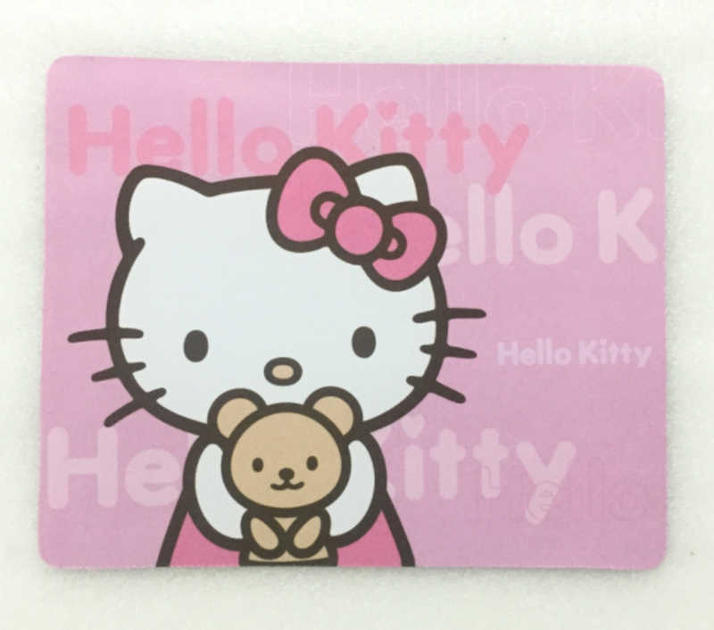 4b176e927 Hello Kitty Durable PC Computer Laptop Mouse Pad Thin Mat Mice Pad Small  Size Rubber Non