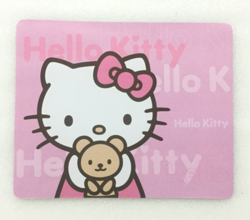 Hello Kitty Durable PC Computer Laptop Mouse Pad Thin Mat Mice Pad Small Size Rubber Non Slip Mini Table Mat For Computer PC