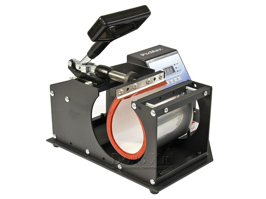 Free shipping Heat Press Machine Sublimation Printer 2D Digital Thermal Mug Printing Machine