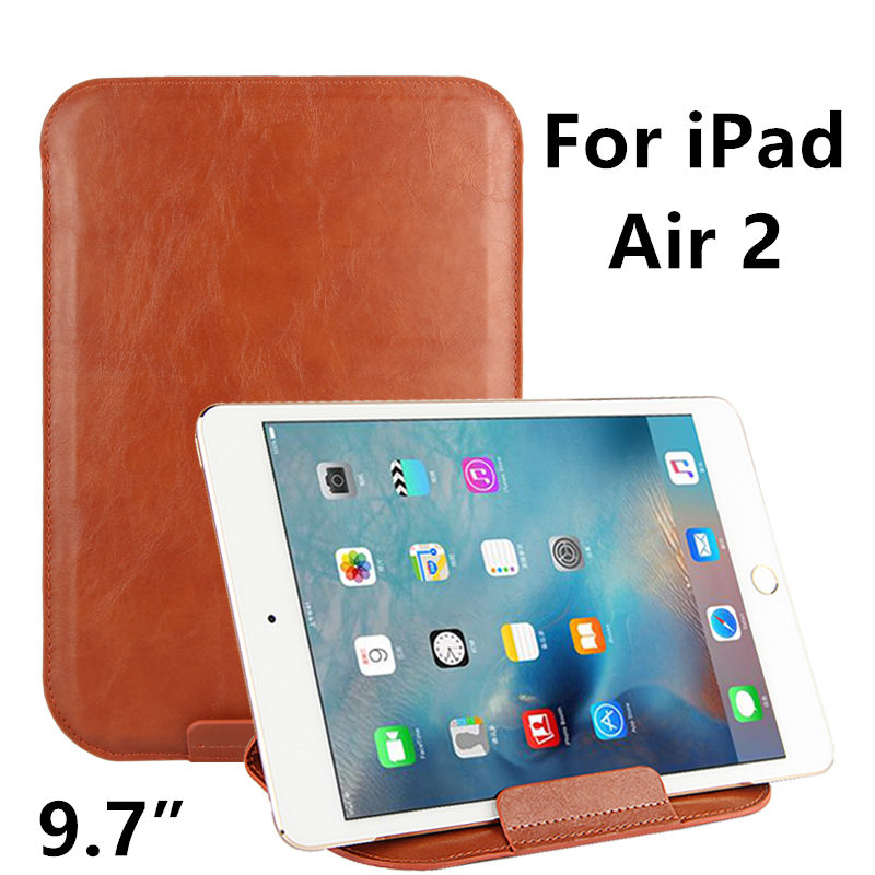Case Sleeve For iPad Air 2 Protective Smart cover Protector Leather For Apple iPad Air2 PU 9.7 inch For iPad6 Tablet Case Covers rygou smart cover for apple ipad air 2 ipad 6 pu leather magnetic front case hard back cover for ipad air 2 case tablet c
