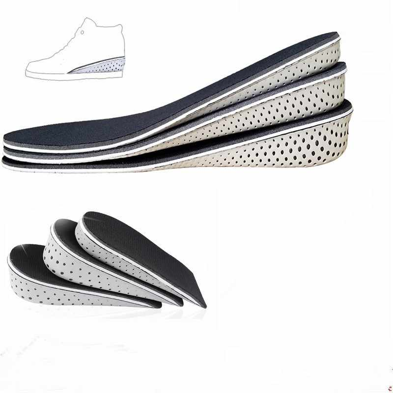 98ee1273c6 1 Pair Comfortable Orthotic Shoes Insoles Inserts High Arch Support Pad for women  men Lift Insert