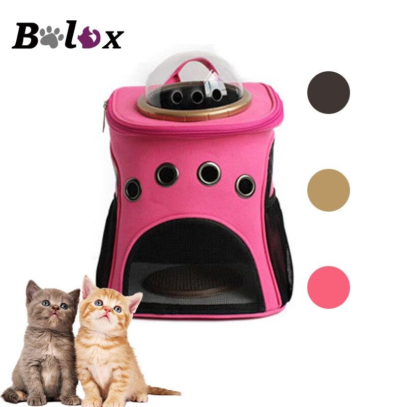 Dog Carrier Breathable Shoulder Cat Backpack Space Capsule Shaped Pet Travel Bag Travel Portable Bag Pet