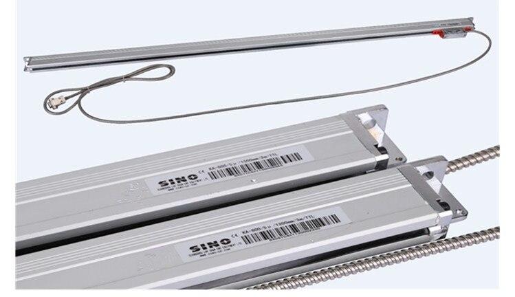Бесплатная доставка китайско KA 600 1000 ~ 1500 мм 5 микрон TTL линейный стеклянная шкала KA600 0.005 мм цифровые зачитаны мельница или Токарные станки ма