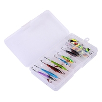 26Pcs/Lot Ice Fishing Lure Set Hook Drop Ice Jig With An Eyelet Winter Fishing Hook Accessories|Fishing Lures|   -