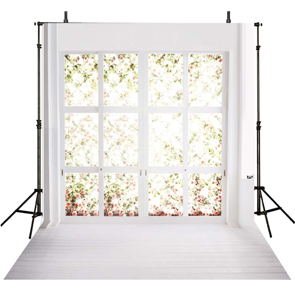 Window Photography Backdrops Wedding Backdrop For Photography White Curtain Background For Photo Studio Foto Achtergrond