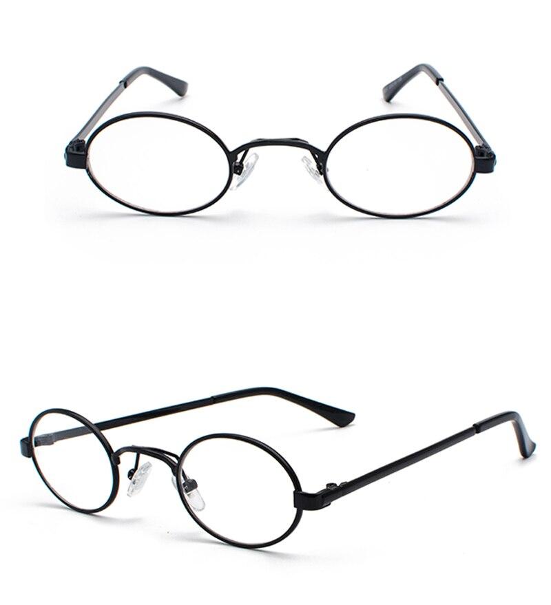Tiny Oval Sunglasses Men detail (10)