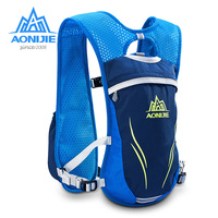 AONIJIE 5 5L Sport Running Lightweight Bag With 2pc 250ML Bottles Outdoor Cycling Backpack Packsack Riding