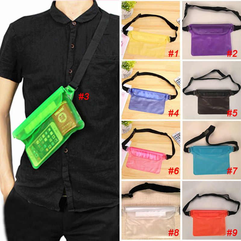 9cc362362a Newly Trendy Women Men Triple Sealed Waterproof Bag Phone Outdoor Jacket  Drifting Swimming Bags PVC Waist