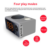 Portable Wireless Bluetooth Speaker High Power Alarm Clock Subwoofer Gbl Bluetooth Column Sound Bar for TV PC Desktop Speakers