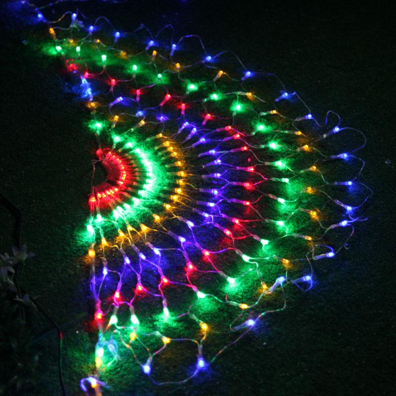 где купить  New Cachoeira 3*0.8m Luzes LED Net Cortina de luz de fadas casamento Exterior Ano Novo feriado do Natal Decoracao da arvore  по лучшей цене