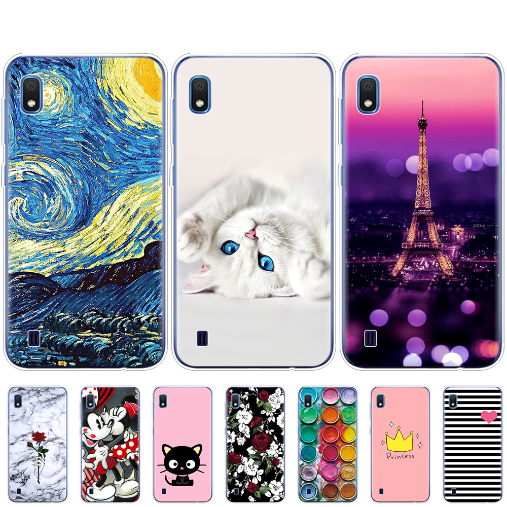Case For <font><b>Samsung</b></font> <font><b>A10</b></font> Case <font><b>coque</b></font> Soft Silicon Back Cover on For <font><b>Samsung</b></font> Galaxy <font><b>A10</b></font> copas A 10 SM-A105F A105 A105F bumper image
