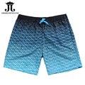 Verano de Los Hombres Playa Pantalones Cortos A Cuadros james wang rey Junta cortocircuito de la marca Correas Bermudas Masculina tamaño de Asia S-XXL