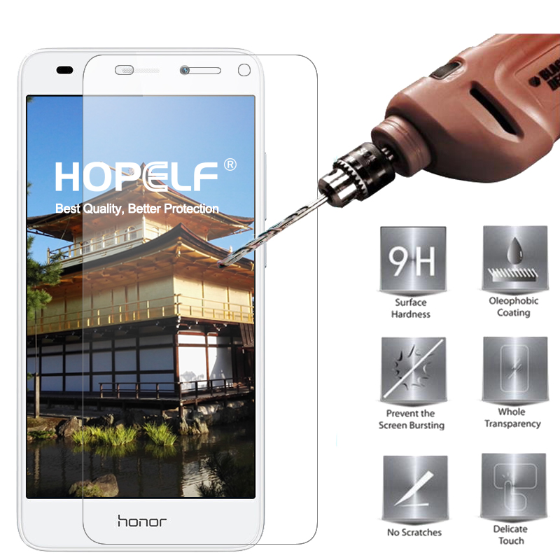 Tempered Glass For Huawei Honor 7 Lite Screen Protector 9H 2.5D Protective Protector For Huawei Honor 7 Lite Tempered Glass