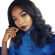 Full Lace Human Hair Wigs For Black Women 180% Density Brazilian Body Wave Wig Nature Color You May Remy Hair