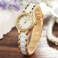 KIMIO Brand Rhinestone Watches Women Imitation Ceramic Strap Bracelet Watch Ladies Dress Quartz Watches Reloj Mujer Montre Gift