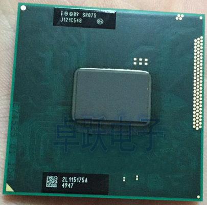 Бесплатная доставка, оригинальный процессор Intel Pentium B940, 2 Мб кэш-памяти, 2,0 ГГц, SR07S PGA988 TDP 35 Вт, двухъядерный процессор для ноутбука, совместим...