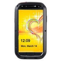 Прочный мощный ударопрочный всепогодный Металл Gorilla Стекло металлической крышкой сотовый телефон чехол для Samsung Galaxy S4
