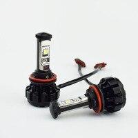 1 Pair Car Headlight Bulb Automobile Head Lights Fog Lamp 12V 24V Cree LED Chip Replace