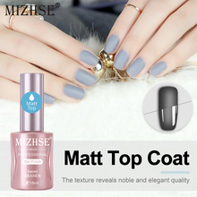 MIZHSE 18ML Matte Gel Polish Nail Art UV Lucky for Manicure Easy Cleaning Varnish Glitter High Gloss Acrylic Glue