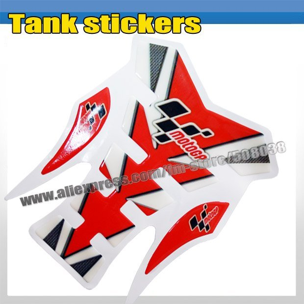 Motorcycle Bike Tank Pad Protector Decal Sticker MP005