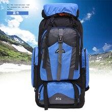 Outdoor 76 80L large capacity Tactical Backpack Trekking Sport Bags Camping Travel hiking Climbing rucksacks mountain Waterproof