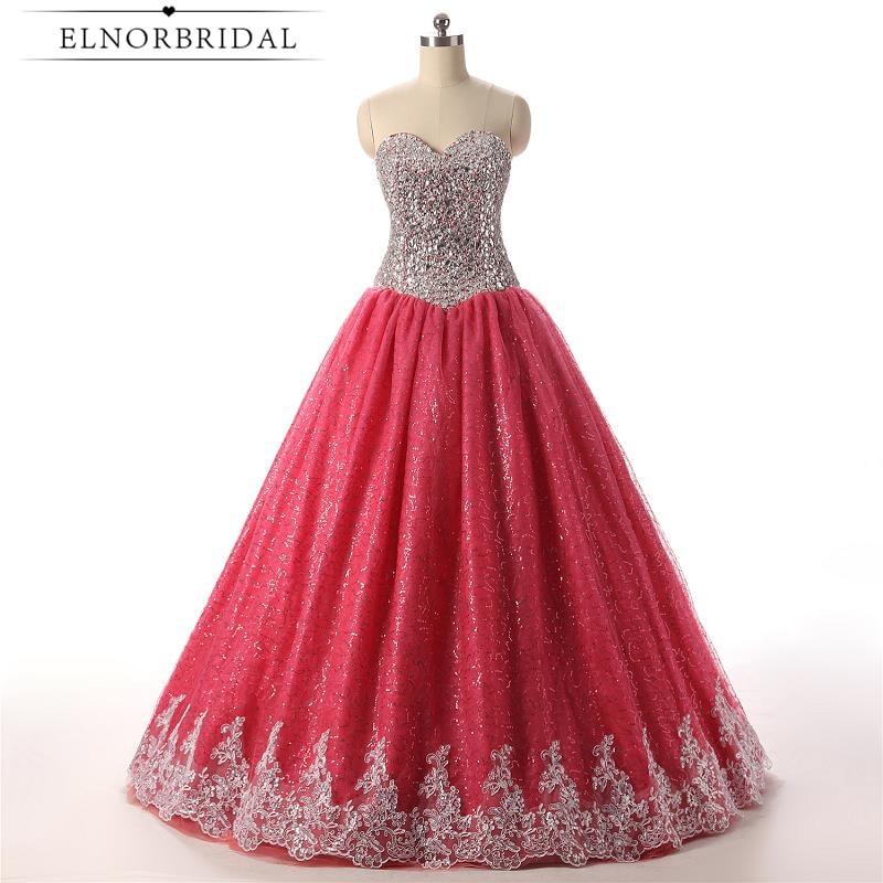2018 douce 16 robes rouge chérie robe de bal Quinceanera robes longueur de plancher Vestido 15 Anos robes de reconstitution historique