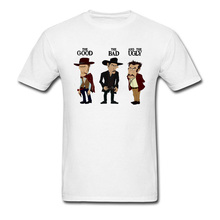 a091d005c29 Funny Group Top T-Shirts 2018 Personalized Cartoon Print T Shirt Men Summer  Good Bad