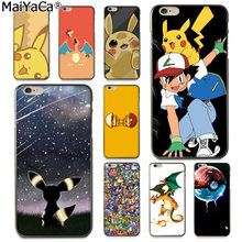 MaiYaCa Best Pokemons Colorful Phone Accessories Case for Apple iphone 11 pro 8 7 66S Plus X 5S SE XS XR XS MAX Cover(China)