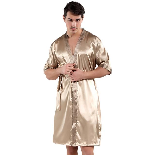 65c74d706516 просвет Китайское Мужское ночное белье с цветочным принтом интимное ...