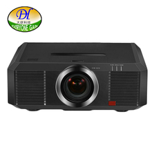 Todo el mundo Obtener 3D 10000lms Projectore Ingeniería Proyector Motorizado Full HD 1280*800 P 3LCD Proyector Beamer Projetor DH-8802