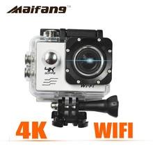 4 k Estilo 30PFS 16MP Cámara sj4000 WIFI 2 Pulgadas de Pantalla LCD 1080 P acción cámara impermeable ir cam pro hero 4 60pfs cámara bajo el agua