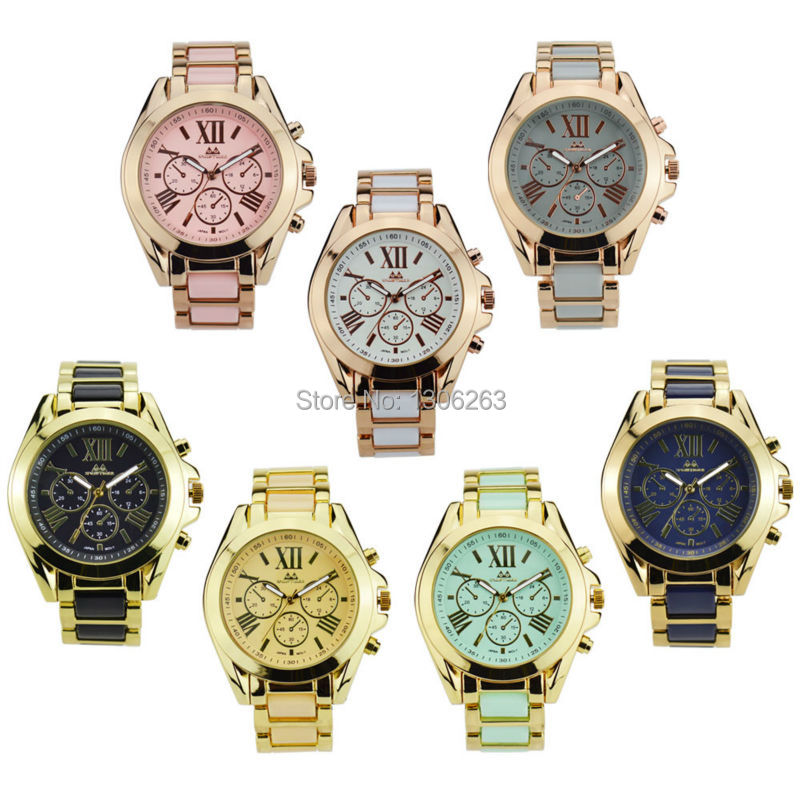 2016 nowa godzina Zegarek Kwarcowy Mężczyźni Kobiety Genewa Reloj - Męskie zegarki - Zdjęcie 2