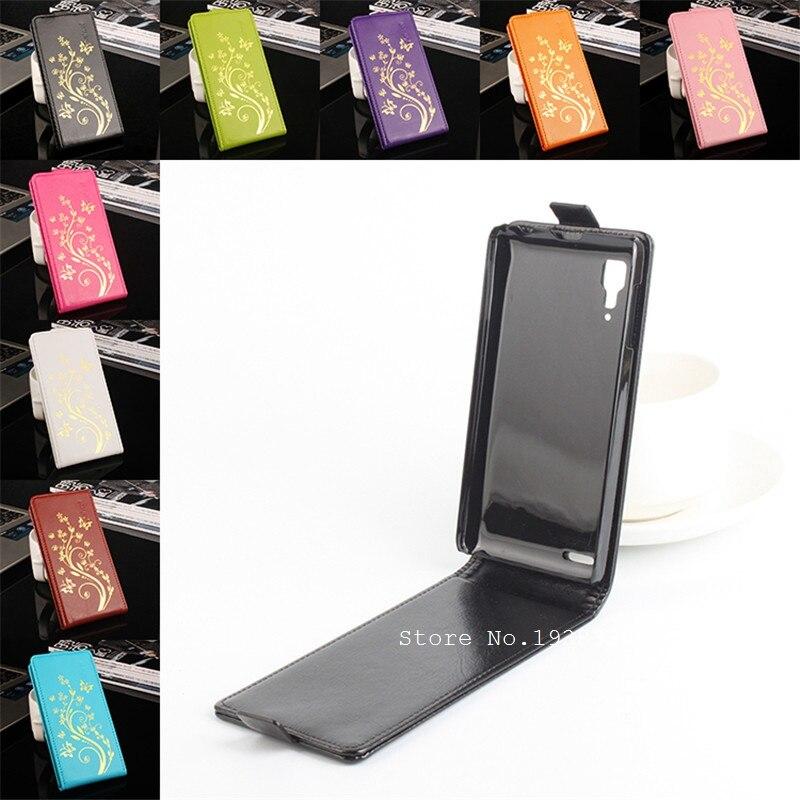 Haute qualité lenovo p780 etui en cuir pour Lenovo P780 Verticale Housse Téléphone Portable Sacs de Haut En Bas