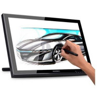 Best price Huion 19 Inches Pen Display Graphics Pen Drawing Monitor With Rechargeable Pen GT-190 with GIFTS( Screen Protector + Glove)