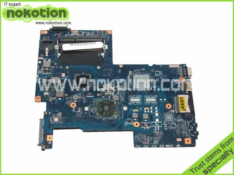 NOKOTION PN 08N1-0NG0J00 Laptop motherboard For Toshiba Satellite C675 AMD CPU onboard ddr3 H000036160 nokotion 60 days warranty laptop motherboard for toshiba satellite s50 s50dt a a6 5345m cpu pn 1310a2556002 sps v000318020