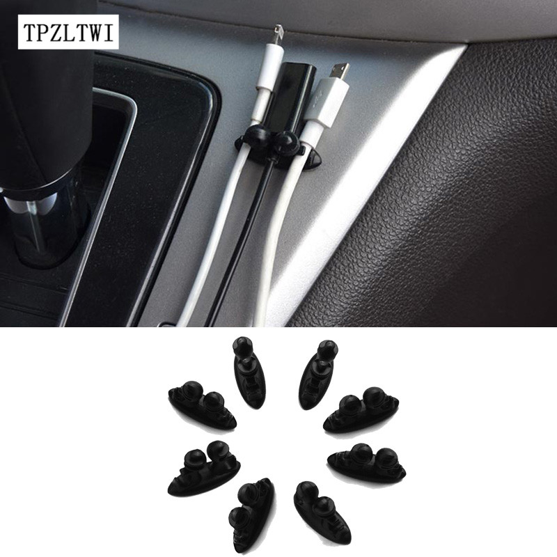 TPZLTWI For Ford Focus 2 3 1 Fiesta Mondeo 4 Fusion Ranger Mustang Kuga Transit Explorer Galaxy S-max Car Sticker Car Wire Clip window deflector for ford ranger injection black car wind deflector visor vent shade rain sun guard for ford ranger t6 2012 2014